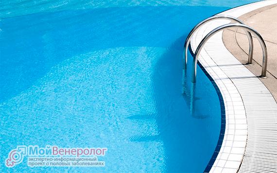 Можно ли заразиться хламидиозом в бассейне?