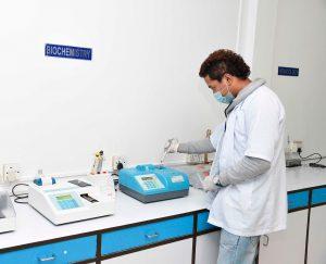 Лаборатория диагностики.
